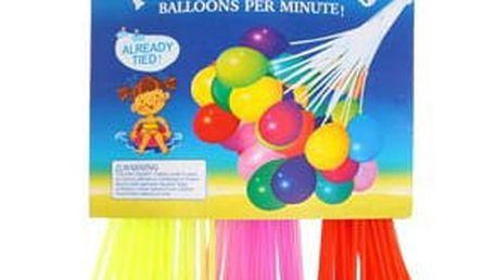 3 sady se 37 samoplnícími barevnými vodními balónky s redukcí na kohoutek