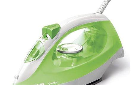 Žehlička Philips ComfortCare GC1434/70 zelená