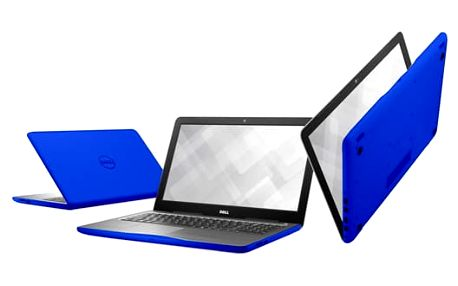 Notebook Dell Inspiron 15 5000 (5567) modrý + dárky (N-5567-N2-511B)