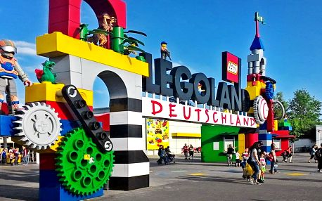 Celodenní výlet do Legolandu a vstup na atrakce