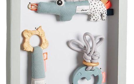 Sada 3 hraček v dárkovém balení Done by Deer Tiny