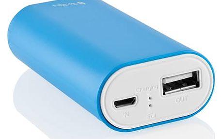 Power Bank GoGEN 4000mAh bílá/modrá (GOGPB40001BLW)