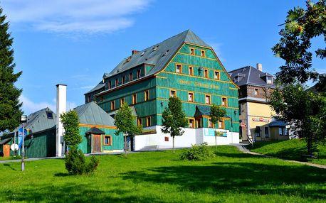 Léto na Klínovci: aktivní dovolená s polopenzí