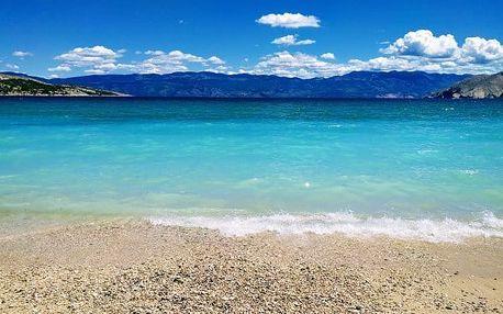 Chorvatsko ve vilách u pláže se stravou