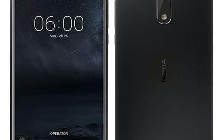 Mobilní telefon Nokia 6 Dual SIM (11PLEB01A11) černý Software F-Secure SAFE, 3 zařízení / 6 měsíců v hodnotě 979 Kč + DOPRAVA ZDARMA