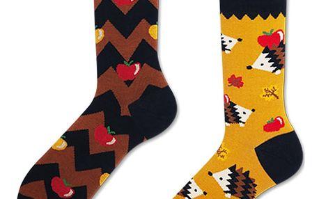 Ponožky Many Mornings Apple Hedgehog,vel.43–46