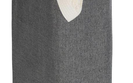 Tmavě šedý koš na prádlo Wenko Corno, 44,4 l