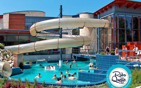 Odpočinek v lázeňském Győru v penzionu u centra se vstupem do termálů a neomezeným fitness – platnost i přes léto