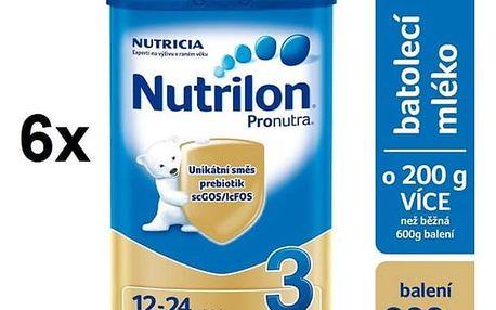 Nutrilon 3 Pronutra, 800g x 6ks