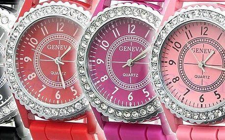 silikonové hodinky