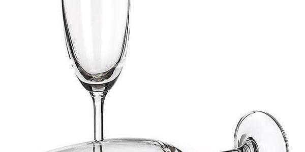 Banquet Crystal Sklenice na sekt Leona 210 ml4