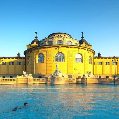 Pobyt v Park Inn**** Budapešť aj so vstupom do Széchenyi kúpeľov