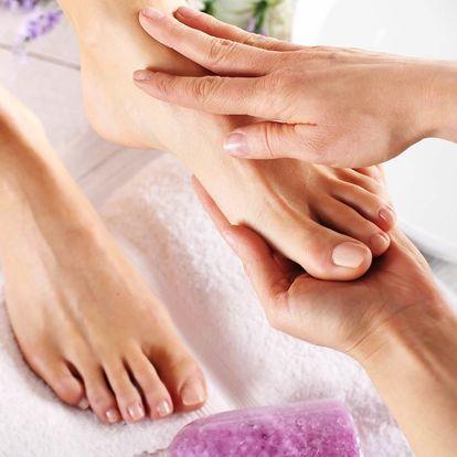 Pedikúra a reflexologie nohou (masáž)