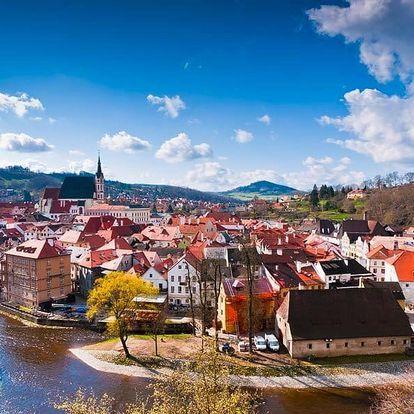 3-dňová pohoda v Českom Krumlove pre dvoch