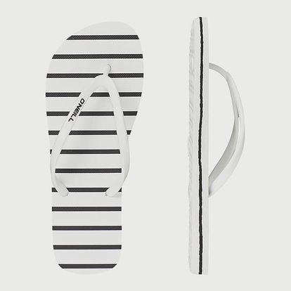 Žabky O´Neill Fw Tropadelic Print Flip Flops Bílá