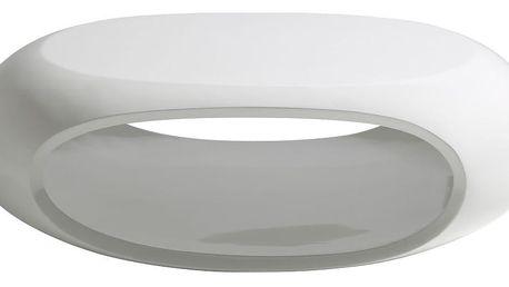 Bílý konferenční stolek Actona Eliptical Coffee Table