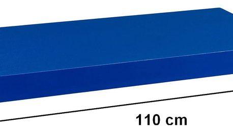STILISTA VOLATO 31077 Nástěnná police - modrá 110 cm
