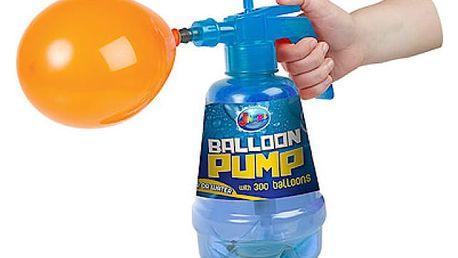 Pumpa na vodní bomby + 100 ks bomb