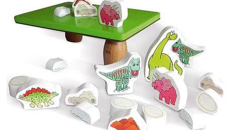 Dřevěná balanční hra Prehistoric