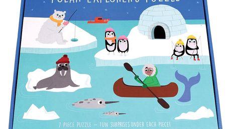 Puzzle s motivy polární expedice Rex London