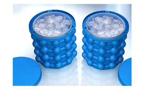 Multifunkční silikonová nádoba na výrobu ledu