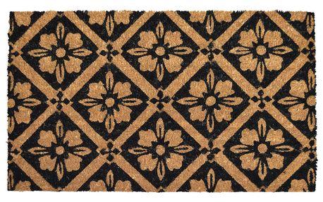Trade Concept Kokosová rohožka Kytičky, 40 x 60 cm