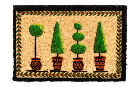 Trade Concept Kokosová rohožka Strom v květináči, 40 x 60 cm