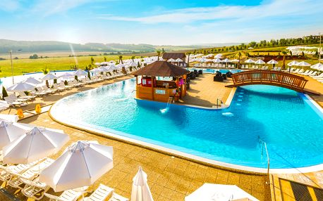 Leto v Miraj Resort**** s wellness, kúpaliskom a tobogánmi
