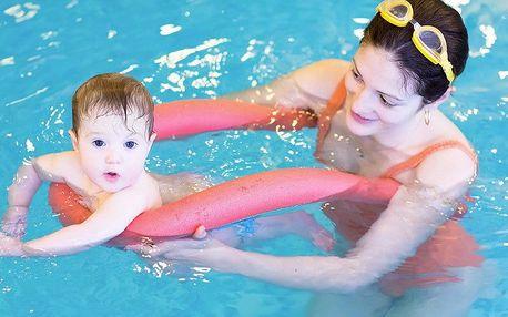 Plavání rodičů s dětmi na Praze 1