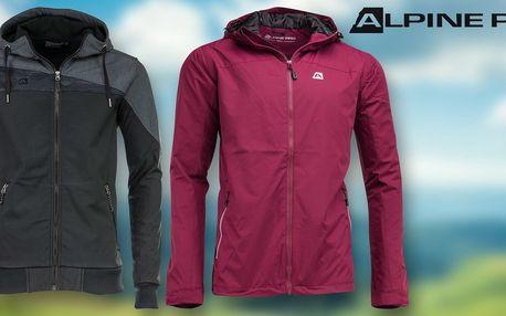 Pánská jarní nebo softshellová bunda Alpine Pro