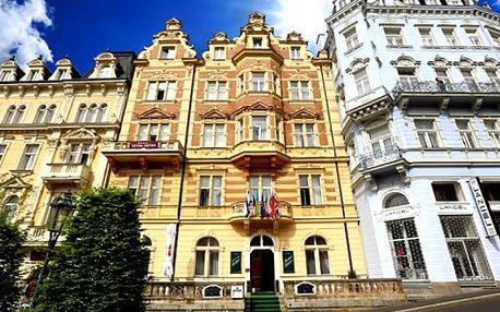 Wellness pobyt s polopenzí a procedurami, Alžbětiny Lázně nebo návštěva muzea Becherovky.
