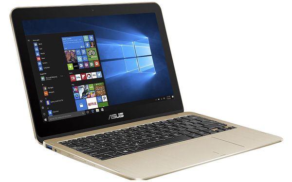 Notebook Asus Flip 12 TP203NA-BP034TS (TP203NA-BP034TS) zlatý Software F-Secure SAFE, 3 zařízení / 6 měsíců v hodnotě 979 Kč + DOPRAVA ZDARMA