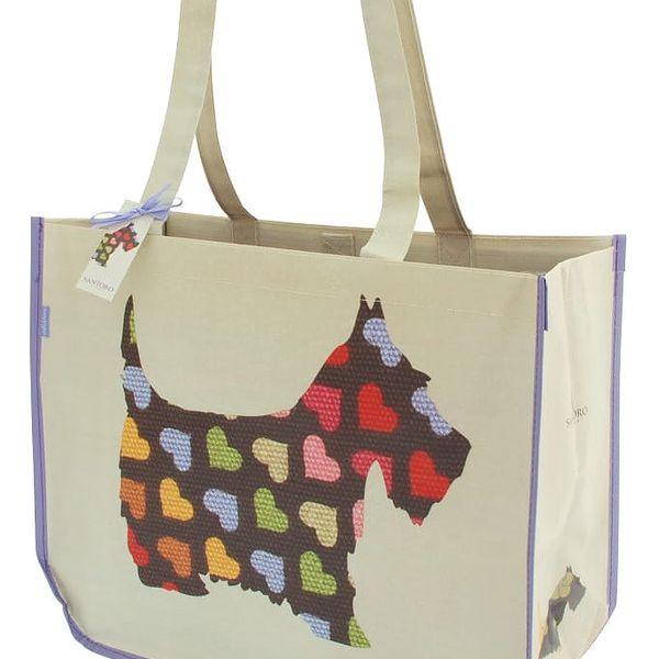 Oboustranná taška s peněženkou Santoro London Scottie Dogs