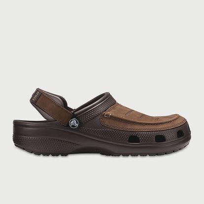 Pantofle Crocs Yukon Vista Clog Hnědá