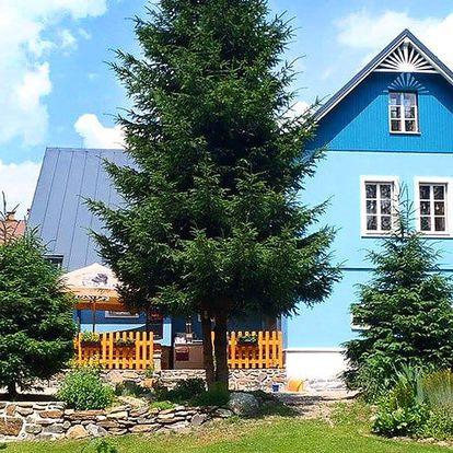 Pobyt v Krkonoších: 3–8 dní v Modrém penzionu