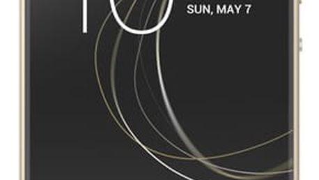 Mobilní telefon Sony XA1 (G3112) Dual SIM (1308-4516) zlatý SIM karta T-Mobile 200Kč Twist Online Internet v hodnotě 200 Kč