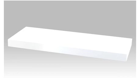 Nástěnná polička 60 cm, barva bílá P-001 WT2 Autronic