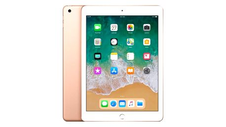 Dotykový tablet Apple iPad (2018) Wi-Fi 128 GB - Gold (MRJP2FD/A)