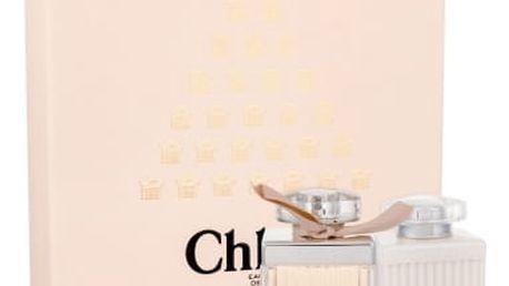 Chloe Chloe 75 ml dárková kazeta dárková sada pro ženy parfémovaná voda 75 ml + tělové mléko 100 ml + parfémovaná voda 5 ml