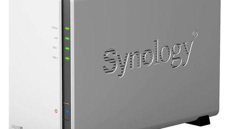 Datové uložiště (NAS) Synology DS218j (DS218j) bílé
