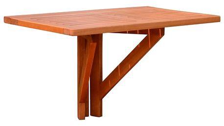 Balkonový skládací stůl z eukalyptového dřeva ADDU Stanford