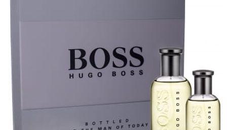 HUGO BOSS Boss Bottled 100 ml dárková kazeta dárková sada pro muže toaletní voda 100 ml + toaletní voda 30 ml