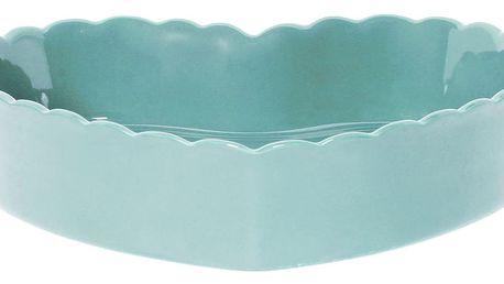 Modrá pískovcová forma na pečení ve tvaru srdce Côté Table Charlotte