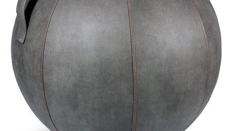 Šedý sedací míč VLUV Veel, Ø60- 65cm