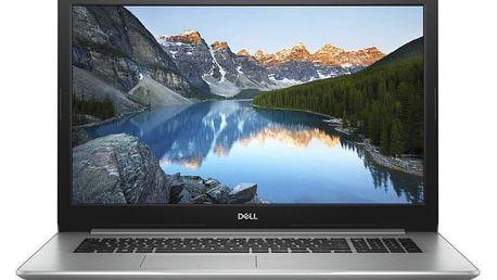 Notebook Dell Inspiron 17 5000 (5770) stříbrný + dárky (N-5770-N2-711S)
