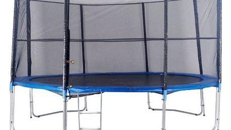 Trampolína DUVLAN 366 cm + ochranná síť + schůdky