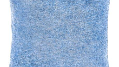 Bellatex Polštářek Žaneta světle modrá, 44 x 44 cm