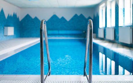 Pobyt v horách v hotelu Podjavorník s polopenzí a bazénem