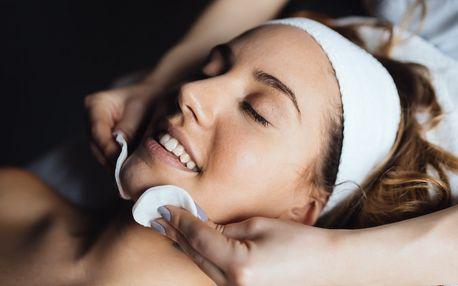 Čištění pleti ultrazvukem, masáž a barvení obočí