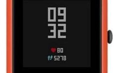Chytré hodinky Xiaomi Amazfit Bip oranžový (17167)
